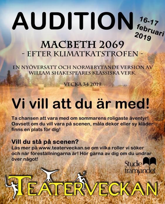 Teaterveckan audition 2019fb